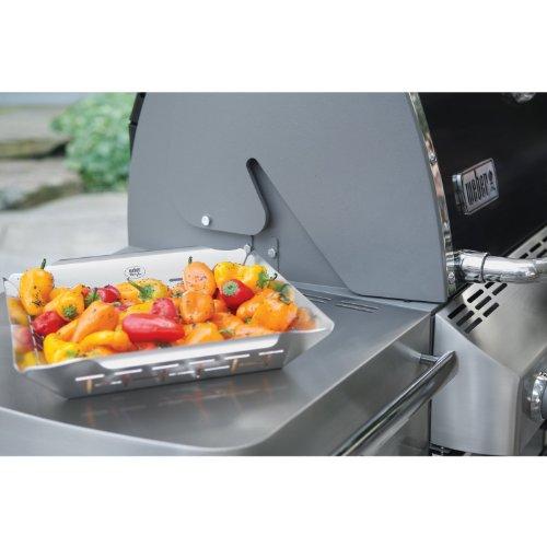 weber 6434 gem sekorb aus edelstahl gro grill grillzubeh r shop. Black Bedroom Furniture Sets. Home Design Ideas