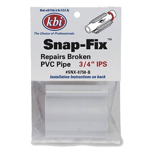 King Brothers Inc. SNX-0750-B PVC Snap-Fix Repair Coupling 3/4-Inch ()