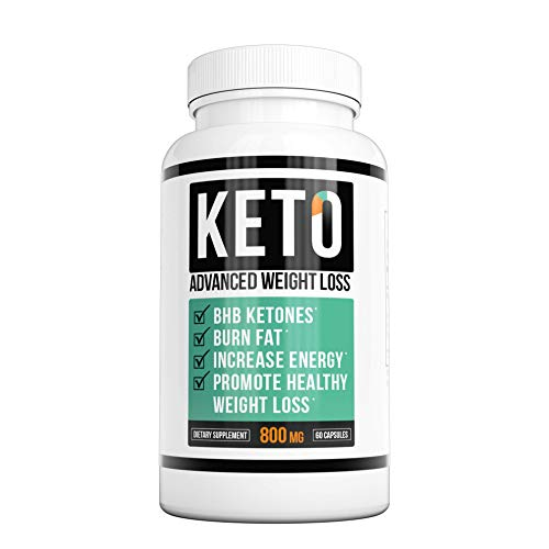 NatureAlly You Keto Diet – Keto Advanced Weight Loss – Burn Fat Instead of Carbs – Ketosis Supplement – 30 Day Supply (60 Capsules)