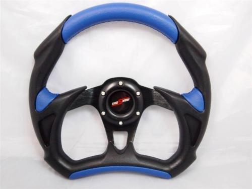 Club Car Precedent Steering Wheel Golf Cart W/ Billet Polished Adapter 3 Spoke