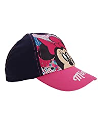 Disney Childrens Girls Minnie Mouse Holographic Cap
