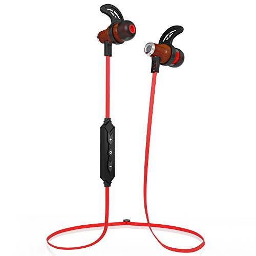 symphonized nrg bluetooth wireless wood in ear noise isolating headphones earbuds earphones. Black Bedroom Furniture Sets. Home Design Ideas