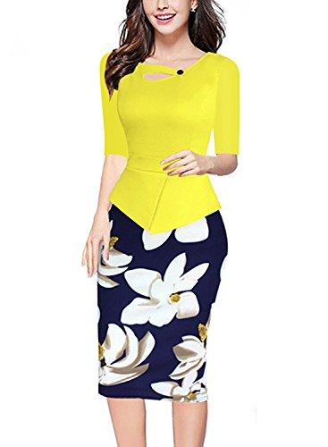 Destinas Womens Elegant Sleeve Bodycon product image