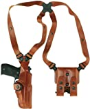 Galco Vertical Shoulder Holster System for Beretta 92F / FS (Tan, Ambi)