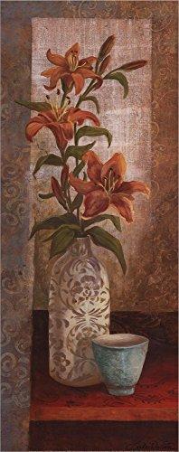 (Spiced Jewels I - mini by Linda Wacaster Laminated Art Print, 8 x 20 inches)