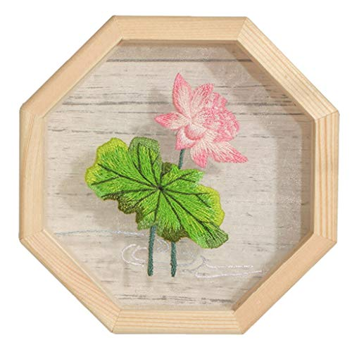 Hoop Wood - Hand Embroidery Cross Stitch