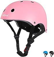 Besttravel Casque Vélo Enfant 3-8 Ans Casque de Protection Bébés Filles Garçons CE Réglable Anti-Choc Protection pour...