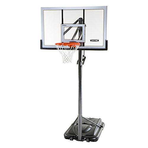 Lifetime 54 Inch Acrylic Portable Basketball Hoop