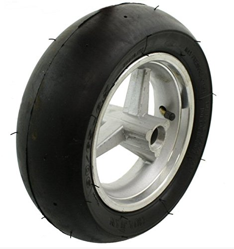 Pocket Bike Tire (Front Wheel Assembly for 47cc and 49cc Cag, Daytona style pocket bikes. Tire size 90/65-6.5.)