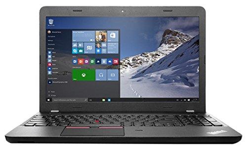 Lenovo ThinkPad E560 39,6 cm (15,6 Zoll) Notebook (Intel core i5 6200U, 4GB RAM, 500GB HDD, Win 7 Pro) schwarz