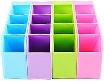 Generic violeta: organiñador de 4 compartimentos, caja de ...