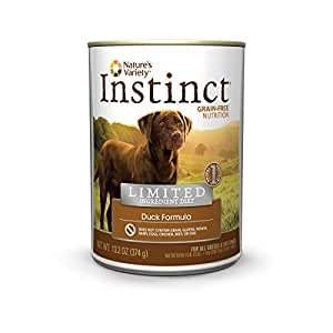 Nature S Variety Instinct Lamb Formula Canned Dog Food