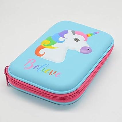 Amazon.com : | Pencil Cases | Unicorn Pencil case Kawaii ...