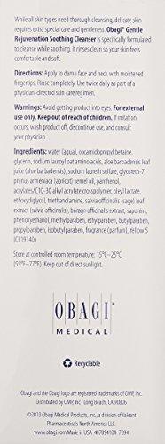 Obagi Gentle Rejuvenation Soothing Cleanser, 6.7 Fl Oz
