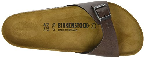 BirkenstockMadrid - Mules Hombre Marrón (Pull Up Brown)