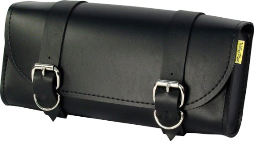 Dowco Willie & Max 58100-00 Standard Series: Synthetic Leather Motorcycle Tool Pouch, Universal Fit ()