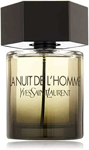 Yves Saint Laurent La Nuit De L'Homme Eau de Toilette Spray, 3.3-Ounce