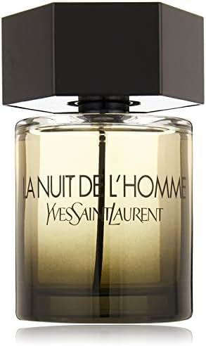 Yves Saint Laurent La Nuit De L'Homme Eau de Toilette Spray, 3.3 Fl Oz
