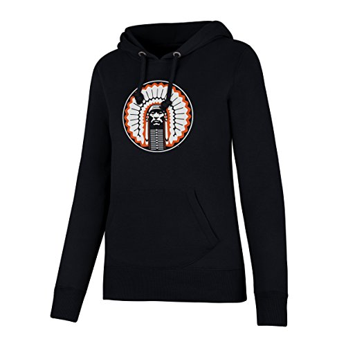 NCAA Illinois Illini Women's OTS Fleece Hoodie, Fall Navy, Small (Illinois Illini Fleece)