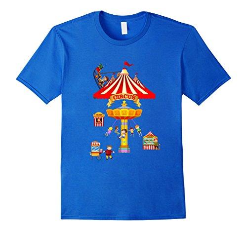 Mens Circus Birthday Baby Cute Gifts Shirt Small Royal