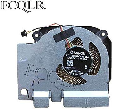 FCQLR Ordenador portátil GPU enfriamiento Ventilador compatibles ...