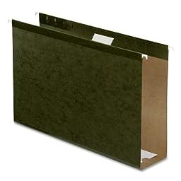 Pendaflex Hanging Box Bottom Folder, Standard Green, Legal, 25 per Box (04153X3)