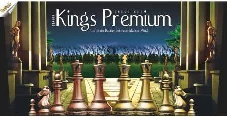Ratnas strategy game kings premium chess set for kids with logical and strong mind to enhance their logical thinking and concentration (big)