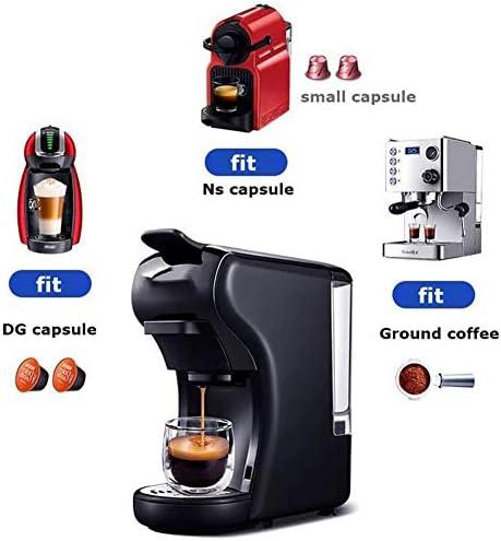 Machine capsule machine à café, pod cafetière Gusto la poudre de capsules multiples (Color : White and tary, Size : AU plug)