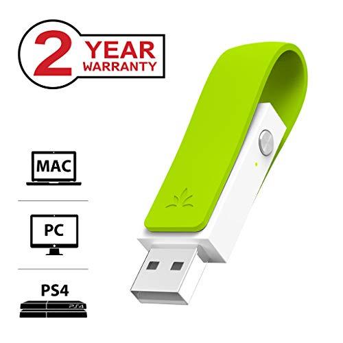 Avantree Leaf Long Range USB Bluetooth Audio Transmitter Adapter for PC...