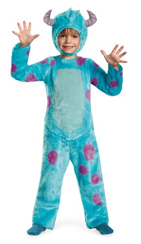Disney Pixar Monsters University Sulley Toddler Deluxe Costume, 4-6 -