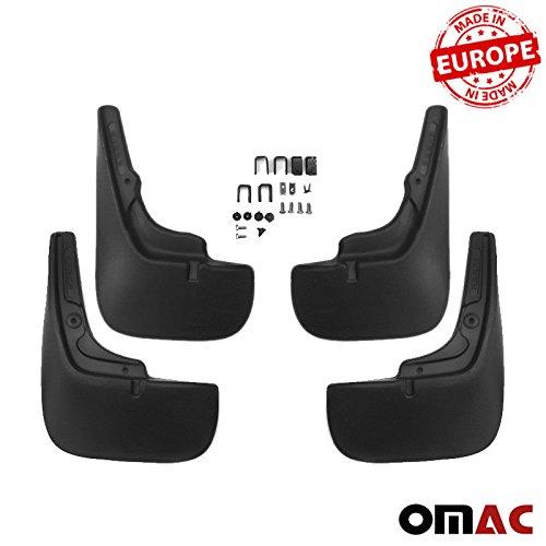 Schmutzfä nger Spritzschutz vorne und hinten links rechts 4 Teileg satz Einfache Montage OMAC GmbH
