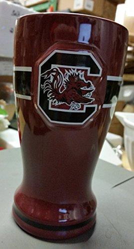 16 Ounce Ceramic Pilsner - South Carolina 16oz Pilsner NCAA Ceramic Beer Glass