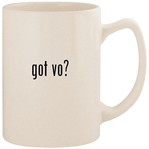 got vo? - White 14oz Ceramic Statesman Coffee Mug Cup