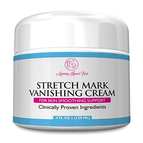 Mommy Knows Best Stretch Mark Cream for Pregnancy & Scar Removal