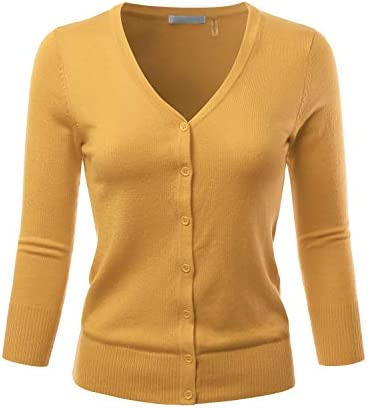 EIMIN Womens Stretch Cardigan Sweater