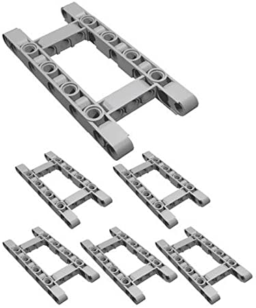 15 X Fina studless vigas EV3 Lego Technic 6L-Braços-Novo-Preto -