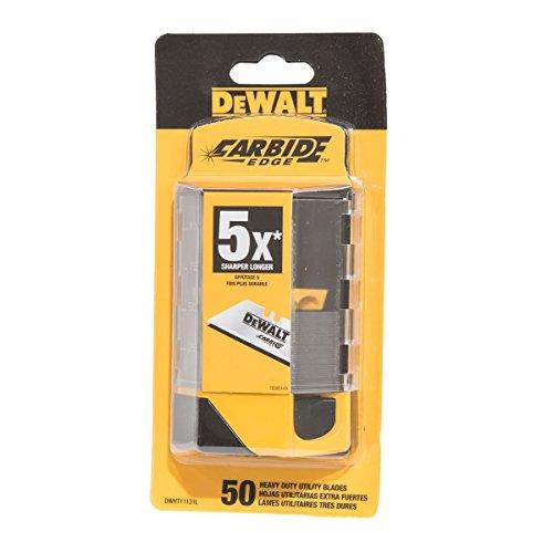 DeWalt Carbide Edge Utility Blades