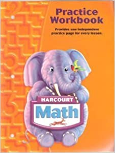 Harcourt Math: Practice Workbook Grade K by HARCOURT SCHOOL PUBLISHERS (2007-01-01)