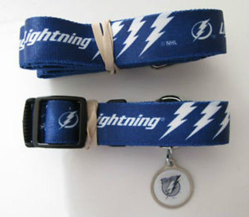 Hunter Tampa Bay Lightning Pet Combo (Includes Collar, Lead, ID Tag), Large