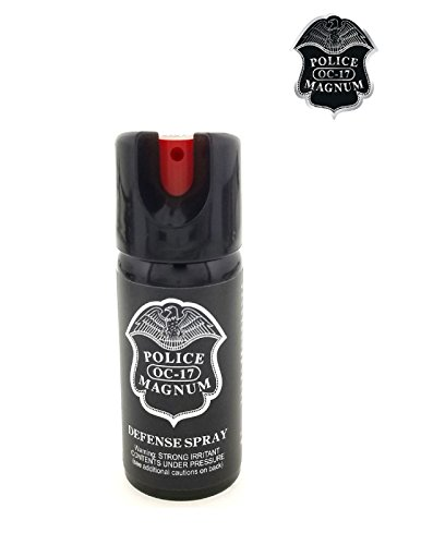 PEPPER SPRAY POLICE MAGNUM 3 Pack 2oz Safety Lock with Practice Spray by Police (Image #6)