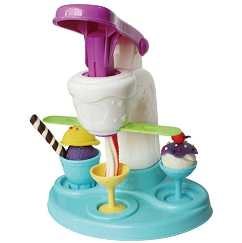 (Polymer Clay Tools Sweet Shoppe Swirl and Scoop Ice Cream Playset)