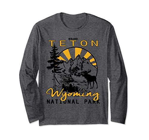 Grand Teton National Park Wyoming Long Sleeve T-Shirt