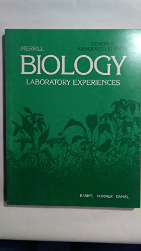 Biology: Laboratory Experiences (Biology: An Everyday Experience)
