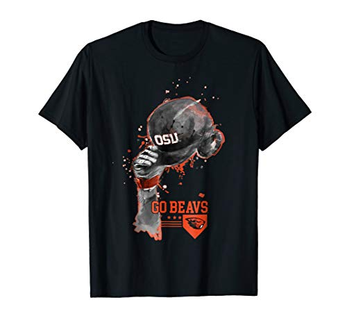 Oregon State Beavers Rising Baseball Hat T-Shirt - Apparel