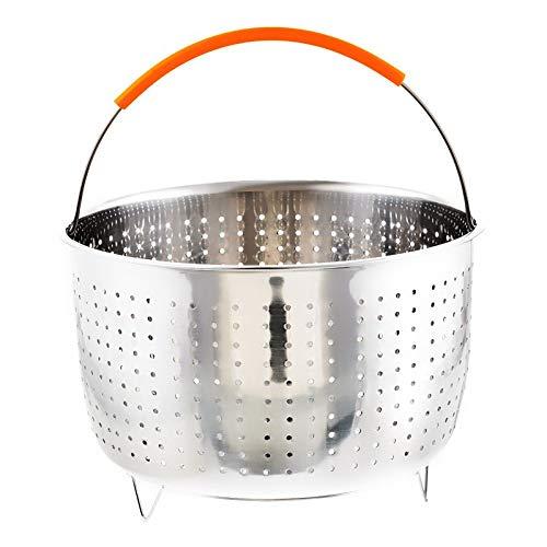 fumak - Stainless Steel Rice Cooker Steam Basket Multifuncti