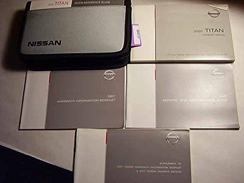 2007 nissan titan owners manual nissan amazon com books rh amazon com 2007 nissan titan owner's manual 2007 nissan titan service repair manual