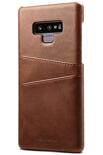 Galaxy Note 9 Wallet Phone Case, XRPow Slim PU Leather Back Protective Case Cover With Credit Card Holder for Samsung Galaxy Note 9 by XRPow