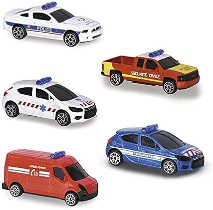Majorette - Vehículo de rescate con sirena y luz (sonido y luz): Amazon.es: Juguetes y juegos
