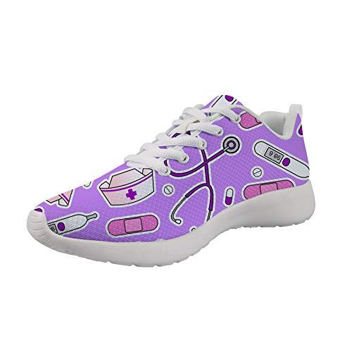 Gym Sneakers De 2 Style 48 Course Nopersonality Fitness Chaussure 36 Nurse Infirmier Sport Running Homme Femme Baskets Mesh Eu qUX7wz