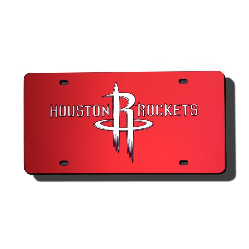 Rico Houston Rockets Laser Tag License Plate